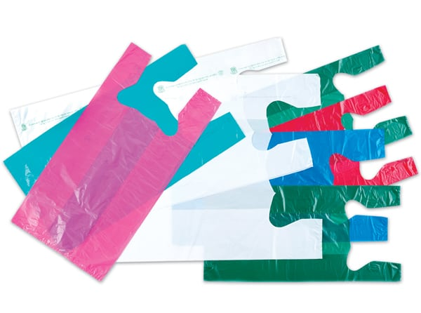 High Density T-shirt Plastic Bags