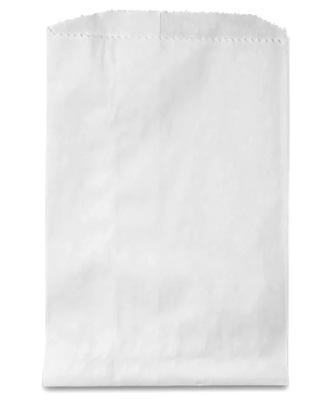 White Kraft Merchandise Bag