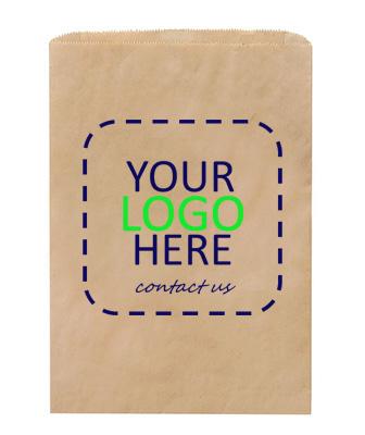 Kraft Merchandise Bag Single w Logo