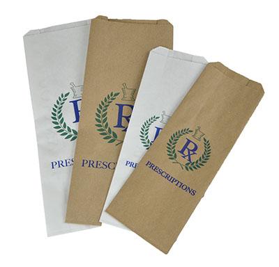 Stock Printed Pharmacy Bags