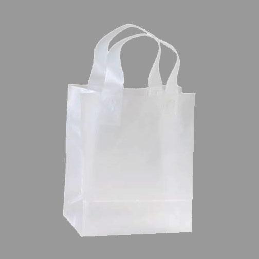 Clear Plastic Shopping Bag